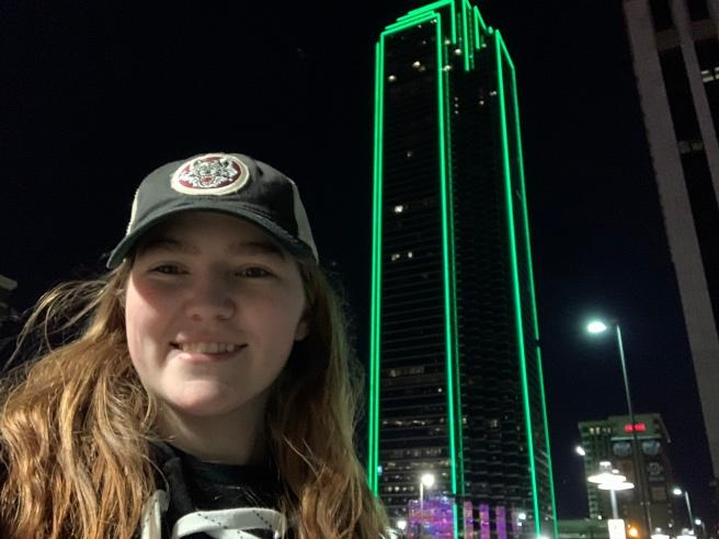 Green Building selfie