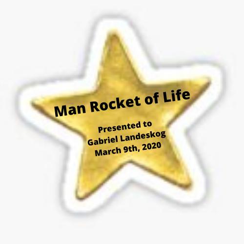 Man Rocket of Life